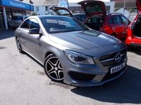 USED 2014 64 MERCEDES-BENZ CLA  2.1 CLA200 CDI AMG Sport 7G-DCT 4dr FSH ONLY 1 OWNER AUTO LOW TAX