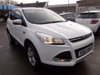 USED 2014 64 FORD KUGA  2.0 TDCi Zetec 5dr 2 WD DIESEL FAMILY SUV
