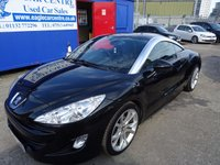 2010 PEUGEOT RCZ 1.6 THP GT 2d 156 BHP £6995.00