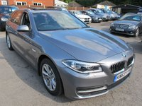 USED 2013 63 BMW 5 SERIES 3.0 530D TOURING 5d AUTO 255 BHP + PANORAMIC ROOF
