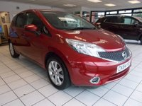 USED 2014 64 NISSAN NOTE 1.2 DIG-S Acenta Premium (Comfort Pack) CVT 5dr £30 PY RD TAX,LOW MILES,FSH