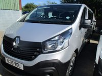 USED 2016 16 RENAULT TRAFIC 1.6 LL29 9 SEAT MINIBUS BUSINESS PACK DCI 5d 125 BHP 2014 64 Renault Trafic PASSENGER LWB NEW SHAPE 9 seat minibus  BUSINESS  ENERGY PACK