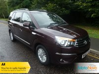 USED 2015 65 SSANGYONG RODIUS TURISMO 2.0 ES 5d 155 BHP FANTASTIC VALUE ONE LADY OWNED SEVEN SEAT SSANGYONG TURISMO WITH FULL LEATHER, CLIMATE CONTROL, CRUISE CONTROL, ALLOY WHEELS AND SSANGYONG SERVICE HISTORY