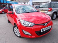 USED 2014 64 HYUNDAI I20 1.2 Active 5dr FULL DEALER HISTORY,WARRANTED