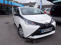 USED 2014 64 TOYOTA AYGO  1.0 VVT-i x 5dr FSH,LOW MILES,FREE RD TAX
