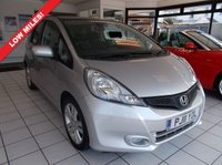 USED 2011 11 HONDA JAZZ 1.4 i-VTEC EX 5dr FULL DEALER HISTORY.WARRANTED