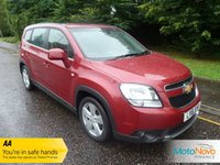 USED 2012 61 CHEVROLET ORLANDO 2.0 LTZ VCDI 5d AUTO 163 BHP FANTASTIC ONE LADY OWNED CHEVROLET ORLANDO AUTOMATIC DIESEL WITH VERY LOW MILEAGE, CLIMATE CONTROL, CRUISE CONTROL, ALLOY WHEELS AND CHEVROLET SERVICE HISTORY