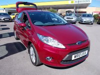 USED 2010 10 FORD FIESTA 1.4 Zetec 5dr FSH ONE OWNER PETROL