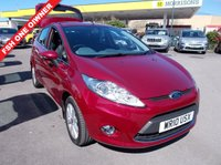 USED 2010 10 FORD FIESTA 1.4 Zetec 5dr FSH NEW MOT WARRANTED SERVICED
