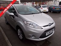 USED 2011 60 FORD FIESTA 1.25 Zetec 5dr WARRANTED NEW MOT FULLY SERVICED
