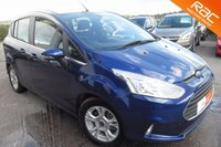 USED 2014 14 FORD B-MAX 1.5 ZETEC TDCI 5d 74 BHP FANTASTIC ECONOMY AND VERSATILITY,BLUETOOTH.