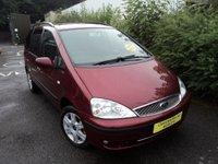 2005 FORD GALAXY 1.9 GHIA TDDI 5d 130 BHP £2988.00