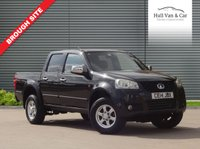 USED 2014 14 GREAT WALL STEED 2.0 TD CHROME 4X4 DCB 1d 141 BHP 4x4, LEATHER, SAT NAV, TOW BAR