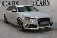 USED 2016 16 AUDI A6 4.0 RS6 PLUS AVANT TFSI QUATTRO 5d AUTO 597 BHP PERFORMANCE PLUS ONE OWNER FASH POWER TAILGATE CARBON INTERIOR PACK B&O HI FI 20 INCH ALLOYS