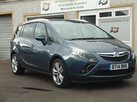 USED 2014 14 VAUXHALL ZAFIRA TOURER 2.0 SRI CDTI 5d 162 BHP 3 Service stamps , Parking Aid ,18 inch alloys , Sports Seats