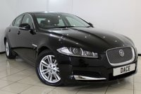 USED 2012 62 JAGUAR XF 2.2 D LUXURY 4DR AUTOMATIC 190 BHP FULL JAGUAR SERVICE HISTORY + HEATED LEATHER SEATS + SAT NAVIGATION + REVERSE CAMERA + BLUETOOTH + CRUISE CONTROL + MULTI FUNCTION WHEEL + ALLOY WHEELS