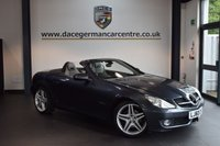 USED 2011 60 MERCEDES-BENZ SLK 1.8 SLK200 KOMPRESSOR GRAND EDITION 2DR AUTO 184 BHP + FULL LEATHER INTERIOR  + EXCELLENT SERVICE HISTORY + BLUETOOTH + HEATED SPORT SEATS + XENON LIGHTS + CRUISE CONTROL + PARKING SENSORS + 18 INCH ALLOY WHEELS INCH ALLOY WHEELS +