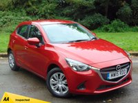 USED 2015 15 MAZDA 2 1.5 SE 5d 74 BHP MANUFACTURERS WARRANTY UNTIL MAY 2018 & 128 POINT AA INSPECTED