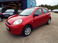 USED 2012 62 NISSAN MICRA 1.2 VISIA 5d 79 BHP ONE OWNER FROM NEW / FULL SERVICE HISTORY