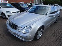 USED 2003 03 MERCEDES-BENZ E CLASS 3.2 E320 CDI AVANTGARDE 4d 204 BHP FULL HISTORY SUN ROOF
