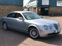 2006 JAGUAR S-TYPE 2.7 V6 SE 4d AUTO 206 BHP £3495.00
