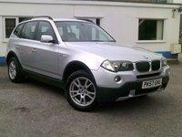 2007 BMW X3 2.0 D SE 5d 148 BHP £5595.00