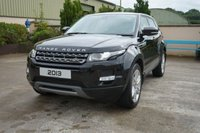 USED 2013 M LAND ROVER RANGE ROVER EVOQUE 2.2 TD4 PURE 5d 150 BHP 19' ALLOYS, LEATHER, AUTO, PARK SENSORS