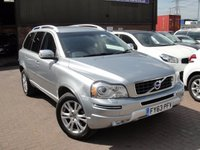 USED 2013 63 VOLVO XC90 2.4 D5 SE LUX AWD 5d AUTO 200 BHP ANY PART EXCHANGE WELCOME, FREE COUNTRY WIDE DELIVERY ARRANGED ON ASKING PRICE