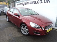 USED 2012 62 VOLVO S60 2.0 D3 SE LUX 4d 161 BHP Full Leather And Full Service History