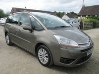 USED 2009 09 CITROEN C4 PICASSO 1.6 GRAND VTR PLUS HDI 5d 7 SEATER 7 SEVEN SEAT DIESEL AUTOMATIC