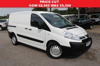 USED 2015 15 CITROEN DISPATCH 1.6 1000 L1H1 HDI 4d 89 BHP 3 Seater, Rear Parking Censors, Two Side Loading Doors,