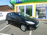 USED 2013 13 FORD FIESTA 1.2 ZETEC 5d 81 BHP LOW MILLAGE 5 DOOR FIESTA