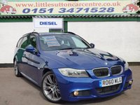 USED 2010 60 BMW 3 SERIES 2.0 320D SPORT PLUS EDITION TOURING 5d 181 BHP M SPORT DIESEL ESTATE, FULL DEALER HISTORY, 2 OWNERS SINCE 2010