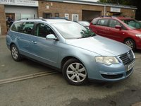 USED 2006 06 VOLKSWAGEN PASSAT 2.0 TDI SE 5d AUTO 138 BHP GREAT VALUE DIESEL AUTO ESTATE, NEW MOT ON SALE.