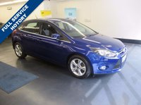 USED 2014 14 FORD FOCUS 1.6 ZETEC TDCI 5d 113 BHP REAR PARKING SENSORS , 1 OWNER, FULL SERVICE HISTORY WITH FORD, FULLY PREPARED INCLUDING 12 MONTH MOT AND AA WARRANTY AND 12 MONTHS AA RECOVERY