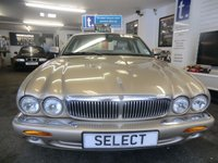 USED 2000 JAGUAR XJ 4.0 SOVEREIGN V8 SWB 4d AUTO 290 BHP lovely example in Prestige gold metallic with fabulous cream leather interior,walnut dash,alloy wheels,Sat Nav,climate,traction-previously supplied by ourselves last owner for last 8 years,many £££'s spent over the years on this car including replacement chain-comprehensive service history -this car must be viewed -future classic Please ring for viewing