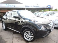 USED 2016 66 NISSAN JUKE 1.5 N-CONNECTA DCI 5d 110 BHP NEED FINANCE? WE STRIVE FOR 94% ACCEPTANCE