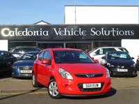 USED 2011 11 HYUNDAI I20 1.4 COMFORT 3d 99 BHP 1 FORMER KEEPER, SERVICE HISTORY & 12 MONTHS MOT