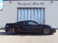 2012 MCLAREN MP4-12C V8 AUTOMATIC PETROL 2 DOOR COUPE £79995.00