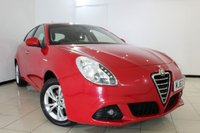 USED 2013 63 ALFA ROMEO GIULIETTA 2.0 JTDM-2 LUSSO S/S 5DR 140 BHP FULL SERVICE HISTORY + CLIMATE CONTROL + MULTI FUNCTION WHEEL + CRUISE CONTROL + AUXILIARY PORT + 16 INCH ALLOY WHEELS