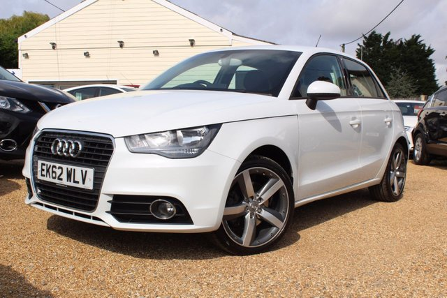 View our 2012 62 AUDI A1 1.4 SPORTBACK TFSI SPORT 5d 122 BHP