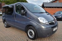 USED 2012 62 VAUXHALL VIVARO 2.0 COMBI CDTI 5d 113 BHP No VAT, OH Disabled Vehicle Conversion, Full Wheel Chair Ramp With Electric Winch