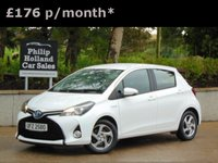 USED 2014 TOYOTA YARIS 1.5 HYBRID ICON 5d AUTO 73 BHP GREAT SPEC, TOUCHSCREEN RADIO, BLUETOOTH, CRUISE CONTROL, REVERSE CAMERA