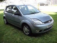 USED 2005 05 FORD FIESTA 1.4 GHIA 16V 5d 80 BHP CHEAP CAR, LEATHER SEATS