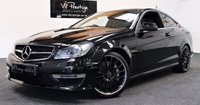 USED 2013 13 MERCEDES-BENZ C CLASS 6.2 C63 AMG 2d AUTO 457 BHP **PAN ROOF-FULL MB HISTORY**