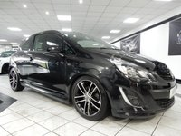USED 2014 63 VAUXHALL CORSA 1.4T BLACK EDITION 120 BHP A/C FULL VAUXHALL SERVICE HISTORY