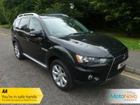 USED 2011 11 MITSUBISHI OUTLANDER 2.2 DI-D JURO 5d 156 BHP FANTASTIC VALUE SEVEN SEAT OUTLANDER DIESEL WITH ONE PREVIOUS LADY OWNER, FULL LEATHER, CLIMATE CONTROL , CRUISE CONTROL, ALLOY WHEELS AND MITSUBISHI SERVICE HISTORY
