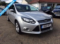 USED 2011 11 FORD FOCUS 1.6 Ti-VCT Zetec 5dr NICE LOW MILEAGE