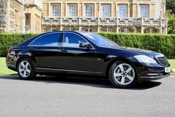 2012 MERCEDES-BENZ S CLASS 4.7 S500 CGI L 4d AUTO 435 BHP £23990.00
