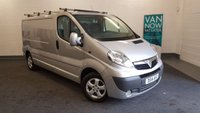 USED 2014 14 VAUXHALL VIVARO 2.0 CDTi 115bhp 2900 Sportive, Long Wheel Base +38209 Miles with Sat Nav, Air Con, Bluetooth Phone Connectivity